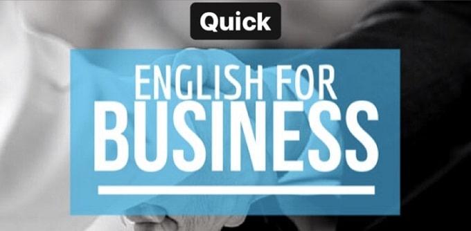 زبان انگلیسی برای بازرگانان