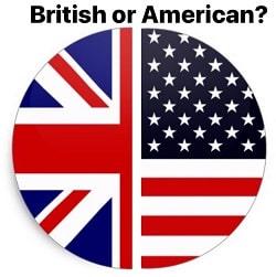 تفاوت لهجه بریتانیایی و آمریکایی