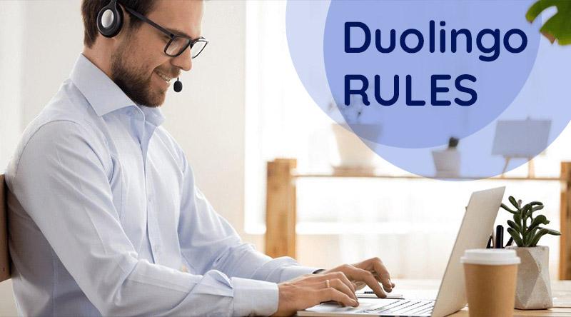 الزامات و قوانین Duolingo English Test